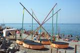 Аттракционы на пляже в поселке Лазаревское
