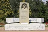 Монумент в парке в поселке Лазаревское