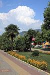 Парк в поселке Лазаревское