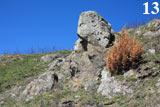 «Черепаха» - мне показалось, что эта необычная скала напоминает голову и передние лапы черепахи.