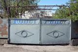 Коллекция фотографий кованных ворот. Эксклюзивно для фотобанка Лори!