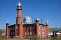 Фотография «Красная мечеть» была сделана в Терезе (КЧР)