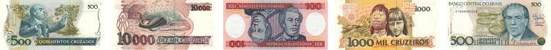 Банкноты из стран Южной Америки в Фотобанке «Лори»