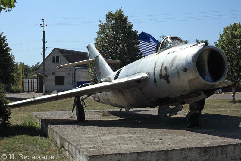 Музей в станице Кавказской. Самолёт.