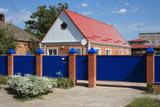 Частный дом в станице Кавказской на улице Ленина