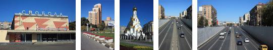 Фотографии, сделанные в районе Кожухово - Андровоский проспект и улица Трофимова
