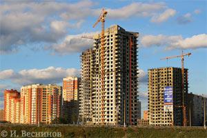 Моя фотография новостроек на окраине города Красногорска