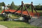 Моё первое велопутешествие, Мост над рекой Нахабинкой