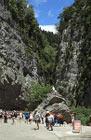 Моё путешествие в Абхазию, ущелье «Каменный мешок»