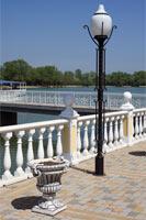 Фотография «Уличный фонарь» была сделана в парке «Зелёный Остров» столицы КЧР