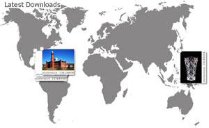 Карта продаж изображений от Фотобанка «Shutterstock»