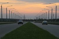Фотография объездной дороги в Юго-Западном районе города Ставрополя