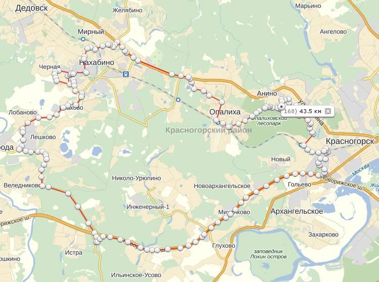 Моё первое большое велопутешествие через Красногорск, Опалиху, Нахабино и Исаково
