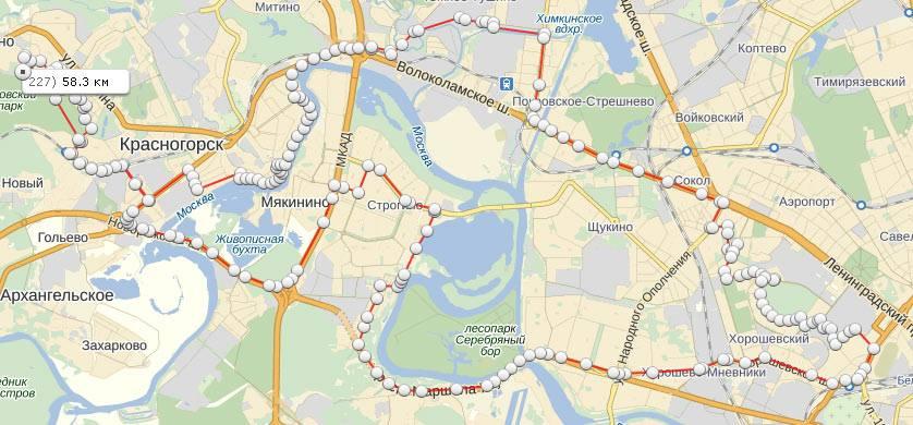 Моё второе большое велопутешествие через Красногорск, Опалиху, Нахабино и Исаково