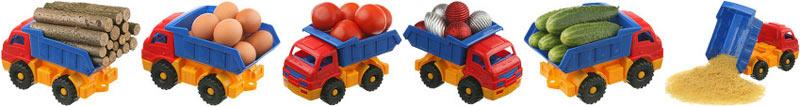 Мои фотографии игрушечных грузовиков купил кто-то из Германии в Фотобанке «Zoonar»