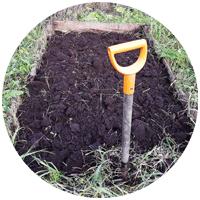 Трудно перечислить все инструменты и приспособления, садовый инвентарь и все остальное,              что можно задействоватьт при посеве и посадке, проколке и обработке почвы, ухода за растениями.             Дачники не даром везут все за город - там обязательно пригодится. Дача все примет.