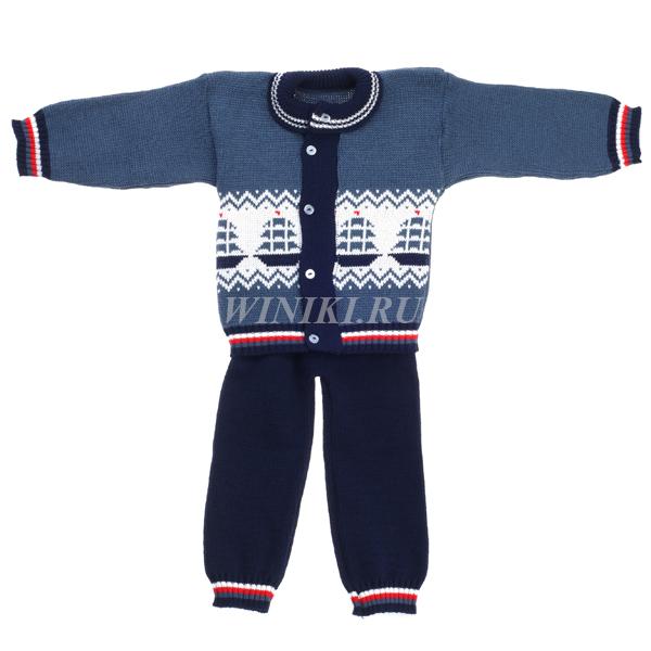 Детский костюм для мальчика 2-3-х лет - 0001. Изолировано на белом фоне
