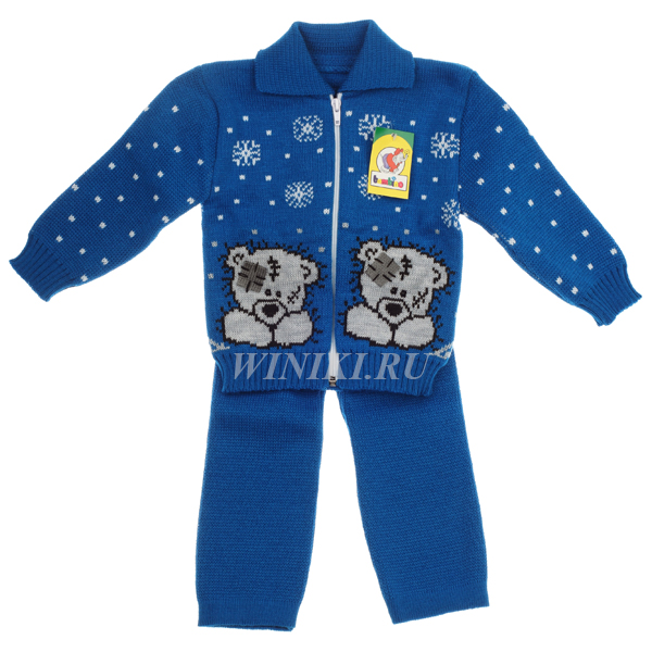 Детский костюм для мальчика 2-3-х лет - 0003. Изолировано на белом фоне