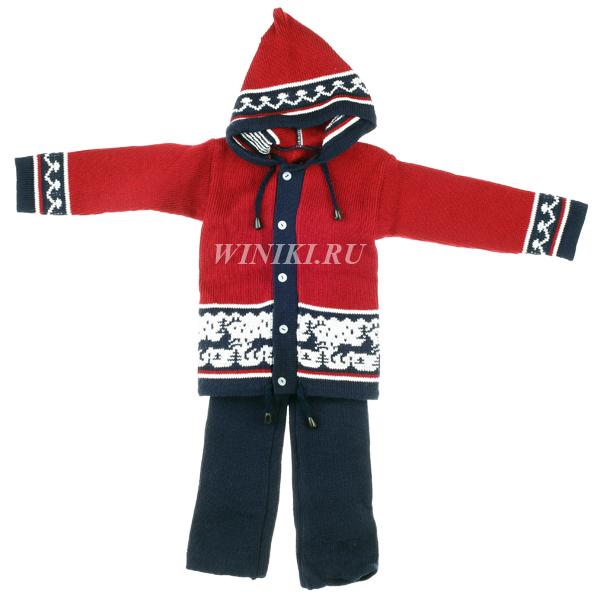 Детский костюм для мальчика 2-3-х лет - 0007. Изолировано на белом фоне