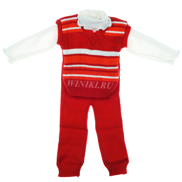 Детский костюм для мальчика 2-3-х лет - 0008. Изолировано на белом фоне